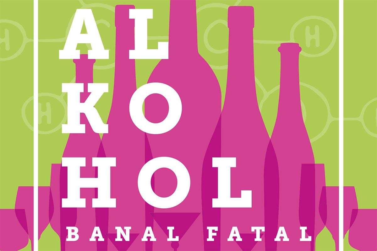 Alkohol Fatal Plakat